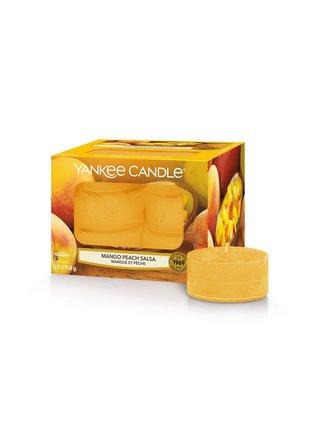 Yankee Candle vonné čajové svíčky Mango Peach Salsa