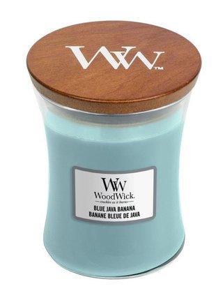 WoodWick vonná svíčka Blue Java Banana střední váza