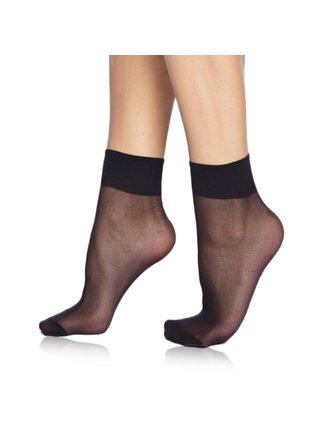 DIE PASST SOCKS 20 DEN - Silonkové matné ponožky - černá