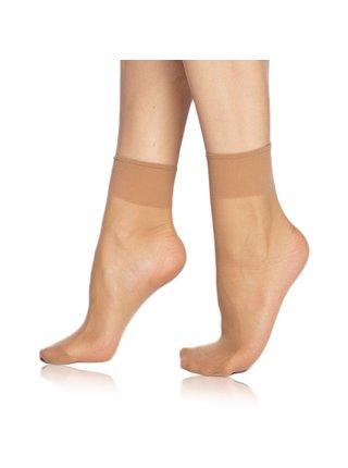 DIE PASST SOCKS 20 DEN - Silonkové matné ponožky - amber