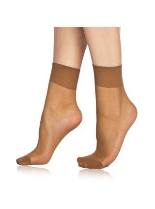 DIE PASST SOCKS 20 DEN - Silonkové matné ponožky - bronzová