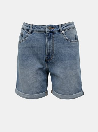 Světle modré džínové kraťasy VERO MODA Joana