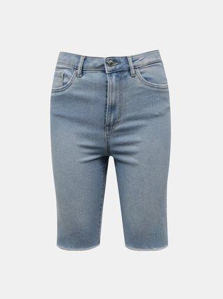 Světle modré džínové kraťasy VERO MODA Loa