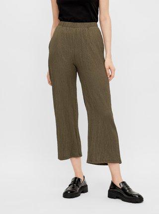 Nohavice pre ženy Pieces - kaki