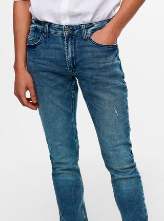 Modré slim džíny ONLY & SONS-Loom