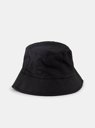 Černý klobouk Pieces Lalla