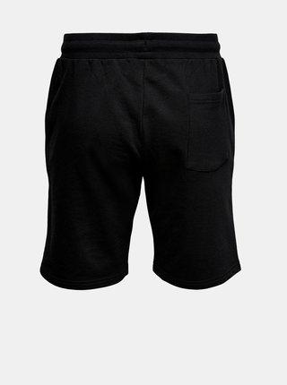 Čierne teplákové kraťasy ONLY & SONS