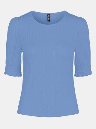 Modré tričko Pieces Tenley