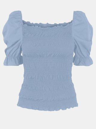 Blúzky pre ženy Pieces - modrá