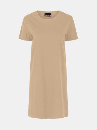 Šaty pre ženy Pieces - béžová