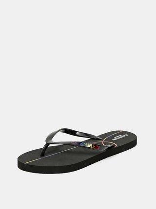 Calvin Klein černé žabky Sandal