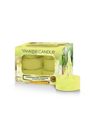 Yankee Candle vonné čajové sviečky Homemade Herb Lemonade