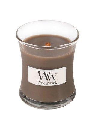 WoodWick vonná sviečka Sand & Driftwood malá váza