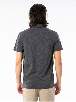 Rip Curl SECTIONS VAPORCOOL P DARK GREY MARLE pánské triko s krátkým rukávem - šedá