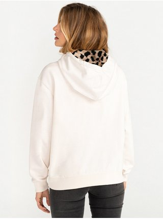 Billabong LOUNA WHITE CAP mikina dámská - bílá