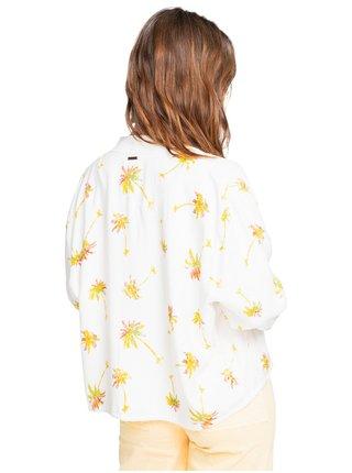 Billabong SUMMER BOMBERS SALT CRYSTAL podzimní bunda pro ženy - bílá