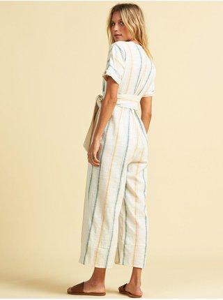 Billabong DREAM WEAVER MULTI plátěné kalhoty dámské - béžová