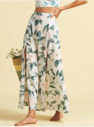 Billabong PEACHY KEEN MULTI dlouhá letní sukně - zelená