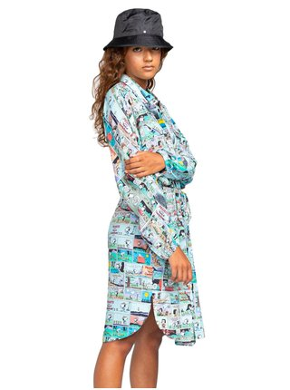 Element PEANUTS MARSHMALLOW WOLFEBORO PNTS krátké letní šaty - barevné
