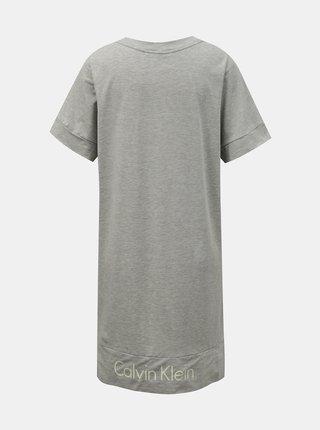 Calvin Klein sivé domáce S/S Nightdress