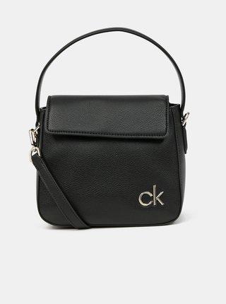 Calvin Klein čierne kabelka Hobo W/Flap
