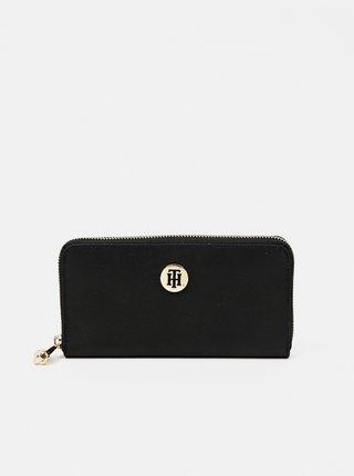 Tommy Hilfiger čierne peňaženka Poppy Large Za Black