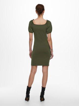 Zelené púzdrové šaty ONLY Niff