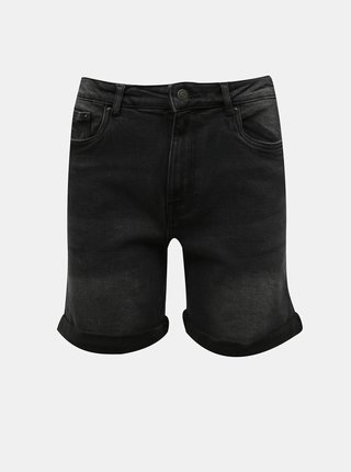 Černé džínové kraťasy VERO MODA Joana