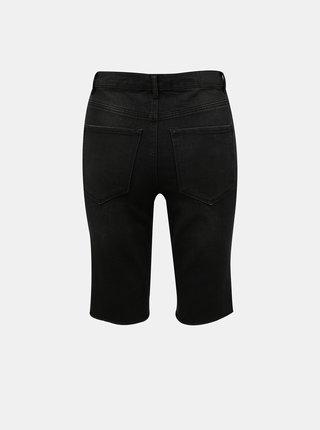Černé džínové kraťasy VERO MODA Loa