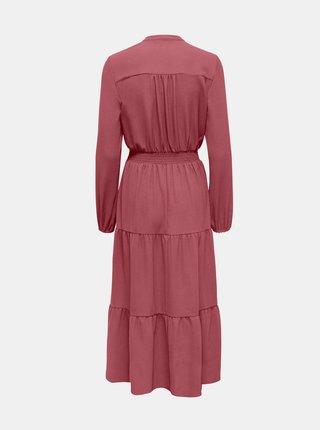 Růžové šaty ONLY-Nova