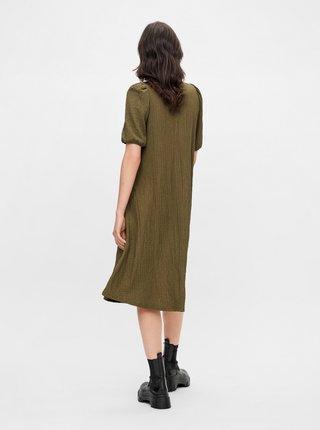 Šaty na denné nosenie pre ženy Pieces - kaki