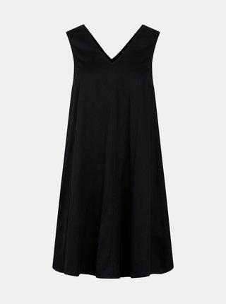 Černé šaty Pieces Tatyana