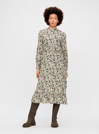 Šaty na denné nosenie pre ženy Pieces - svetlozelená