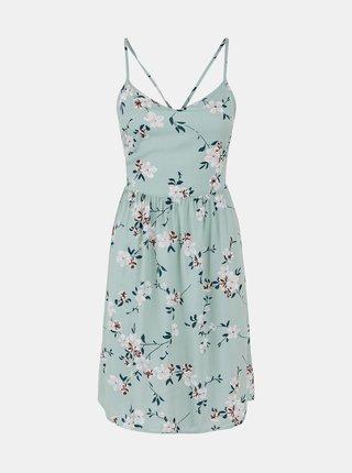 Letné a plážové šaty pre ženy Pieces - svetlozelená