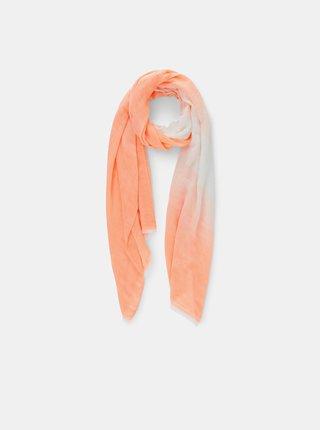 Šatky, šály pre ženy Pieces - oranžová