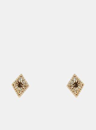 Náušnice v zlatej farbe Pieces Lohanna