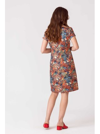 Farebné šaty SKFK Domna