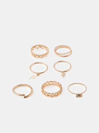 Prstienky pre ženy Pieces - zlatá