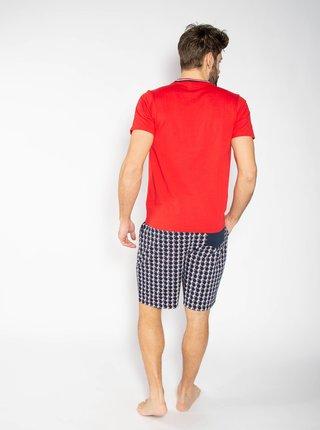 Modro-červené pánske pyžamo FILA
