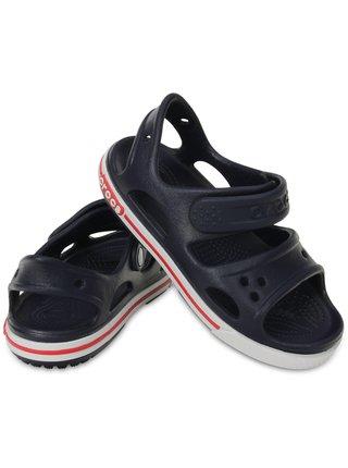 Modré chlapčenské sandále Crocs Crocband II Sandal
