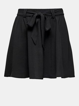 Černá sukně se zavazováním ONLY Jasmin