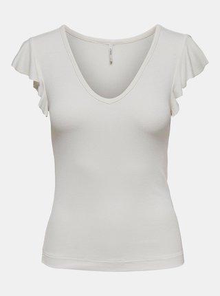 Bílé tričko ONLY Belia