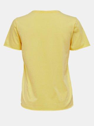 Topy a tričká pre ženy ONLY - žltá