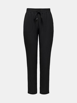 Černé kalhoty se zavazováním ONLY Nova