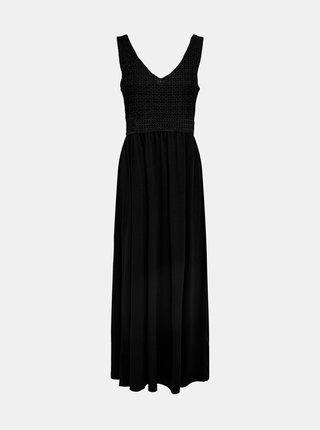 Letné a plážové šaty pre ženy Jacqueline de Yong - čierna