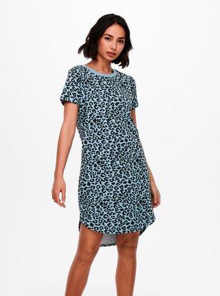 Modré vzorované šaty Jacqueline de Yong Ivy