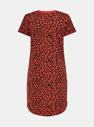 Červené vzorované šaty Jacqueline de Yong Ivy