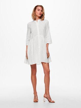 Letné a plážové šaty pre ženy ONLY - biela