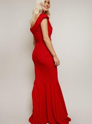 Červené maxišaty Little Mistress