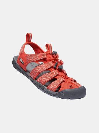 Oranžové pánske vzorované sandále Keen